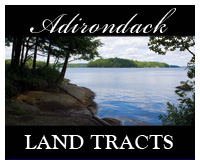 Adirondack Lake Land Tracts For Sale